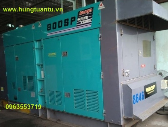 Bán máy phát điện cũ Nhật